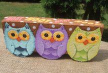 Owls / by Nina Hallmark