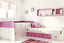 camas de niñas