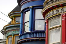 ARCHITECT:  PAINTED LADIES & HOUSES THAT APPEAL TO MY HEART / by SAGELAINE *