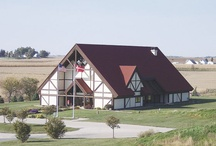 Museum of Danish America Building / Constructed in 1993.  Architect: Astle/Ericson & Associates, Inc. Contractor: Story Construction Co.
