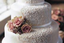 Lace Wedding Cakes