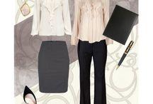 new job attire / by Jenna Touchberry