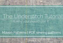 Sewing & Pattern Tutorials/Useful Info