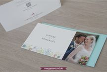 Dankeskarten (Hochzeit) / Hier findest du schöne Inspirationen zu Dankeskarten zur Hochzeit aus meinem Portfolio | marygoesround.de