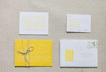 Wedding - #yellow and #diy