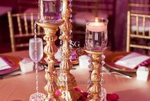 Indian themed table decor