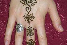 Diseños tatuajes de Henna