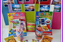 Holiday/ Going Away Bags of Magic / A great little treat for the kids - Plane, Car, Road, Bus, Train... Personalised too...