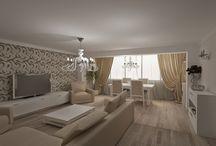 Design interior apartament modern / Proiecte design interior apartamente realizate in stilul modern.