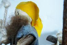 Atelier des enfants / Giocattoli in legno, creazioni artigianali in materiali e fibre naturali