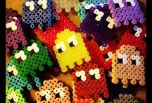 Creaciones hama beads / diseños hermosos y entretenidos de hama beads , para desarrollar toda tu imaginacion
