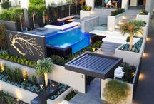 Luxury Landscaping / Beautiful backyard and luxury landscaping inspiration. Find more at www.customhomesmag.com