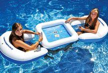 fun pool things / by Lisa Gilkey Hickey