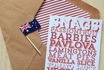 Australia Day / A board to inspire celebrations for all things Australian.