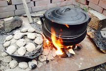 Campfire / Cooking on fire