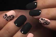 Nail designed and hair styles