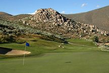 Golf Courses Around Carson City / Carson City boast 9 unique 18 hole courses all within a 20 minute drive.  Over 50 courses within an hour drive of Carson City. Experience golf in the high desert.
