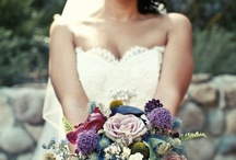 Dark Bridal Bouquets
