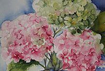 Vakre blomster og blomsterbilder