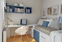Habitaciones Pequeñas- niño / Mueble modular