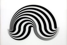Bridget Riley / Riley was born at Norwood, London, in 1931. In 1960 she evolved a style in which she explored the dynamic potentialities of optical phenomena. These so-called 'Op-art' pieces, such as Fall, 1963 (Tate Gallery T00616), produce a disorienting physical effect on the eye.