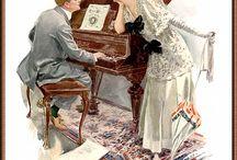 Romance by Harrison Fisher / by Sue Holmen