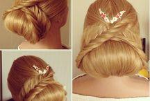 Bride braids