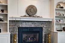 Fireplace Built-in Cabinets