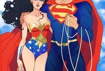 WonderWoman/Superman