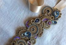soutache necklaces and pendants