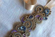 soutache necklaces and pendants
