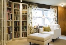 Books - Home Libraries / by Nancy C