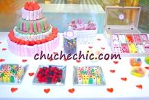 BUFFET DE CHUCHES - Candy bar / Buffets de Chuches, Candy Bar Bodas y Eventos en Donostia y Guipúzcoa www.moremieventos.com
