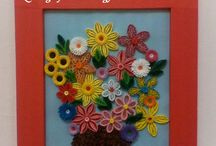 My quilling pictures.