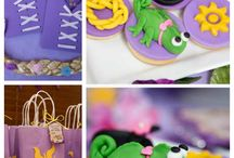 Rapunzel party for kids(Ginevra 7 years old)