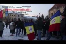 Cluj-Napoca protest against President Traian Băsescu