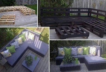 wood pallets / by Tammy