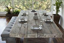 Ρουστίκ τραπέζια