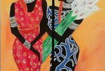 schilderijen riet en fons