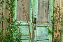 Old doors...