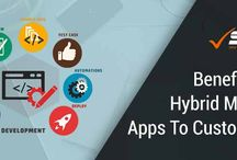 Hybrid mobile app development / Hybrid app development services by a professional app development company in India. At SPA, we provide native and hybrid app development services on client requirement.