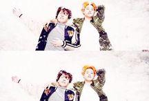 Couples Jimin~~ / Jikook, Jihope, Vmin and Yoonmin.