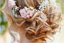 Tocados flor novia - Wedding hair / by Floristería Musgo