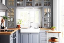 Dream Kitchens / Our board highlighting aspects of kitchens we love. After all they are the heart of the home!
