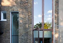 .Architecture - Town house / Town house facades Small development plot facades