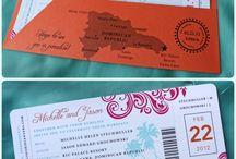 wedding ticket