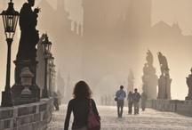 Svítání na Karlově mostě - Praha