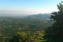 Paisajes / Los municipios de Pego, Adsubia y La Vall d'Ebo están rodeados de montañas y valles que invitan a pasear en plena naturaleza