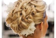 the wedding...hair, nails & makeup!