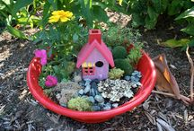 Fairy gardens for the girls / by Fran Walker